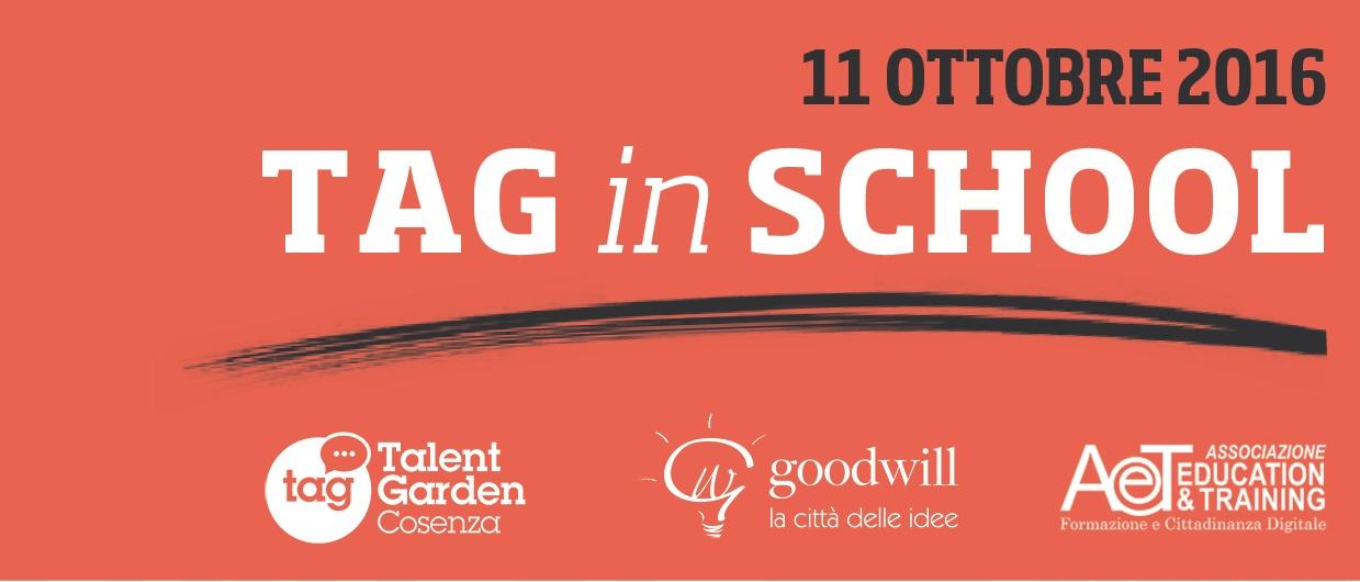 TAG (in)School 11 Ottobre 2016